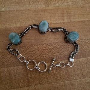 New larimar bracelet